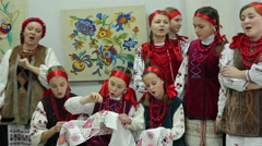 Ukrainian Nationality - stock footage