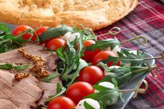 Italian appetizer snacks Stock Photos