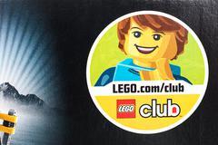Lego Club Sign - stock photo