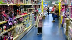 Toy store in Wexford, Ireland Stock Footage