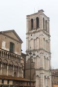Stock Photo of ferrara (italy), cathedral