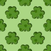 St Patrick's day background - stock illustration