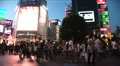 Time lapse. Shibuya, Tokyo Night Scene. Fashion center of Japan. Nightlife area Footage