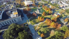Aerial armstrong park 4k Stock Footage