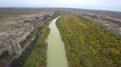 Aerial rio grand 3 4k Stock Footage