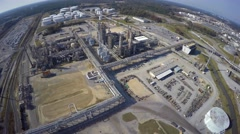 Aerial phillips 66 refinery 5 aerial 4k Stock Footage