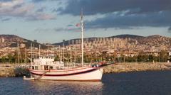Maltepe waterfront in Istanbul Stock Footage