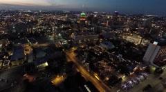 Aerial downtown san antonio 4k Stock Footage