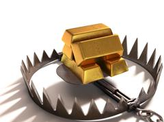 Greed Traps Stock Illustration