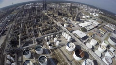 Aerial phillips 66 refinery 12 aerial 4k Stock Footage
