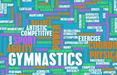 Gymnastics Stock Illustration