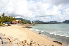 patong - april 25: kalim beach. april 25, 2012 in patong, thailand, phuket. - stock photo