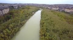 Aerial rio grand 4 4k Stock Footage
