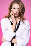 women's issues  - stock photo
