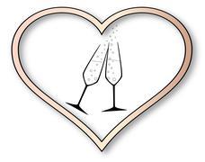 Stock Illustration of love celebration