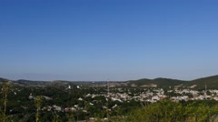 General View of the City of Calera Stock Footage