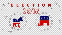 Election 2016 with Alpha Stock Footage