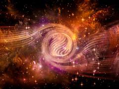 Space Vortex Stock Illustration