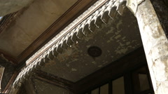 Beautiful Detail of an Old Building - stock footage
