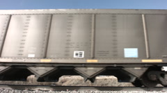 Union pacific coal train Stock Footage