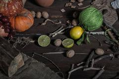 Still life witch Stock Photos