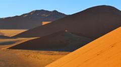 desert dunes sossusvlei namib desert namibia uhd 4k - stock footage