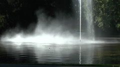 Stunning fountain (with audio) in Park Valkenberg, Breda, Netherlands. Stock Footage