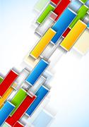 background with rectangles - stock illustration