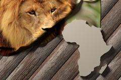 Afrika Stock Illustration