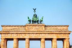 Stock Photo of brandenburg gate in berlin, germany