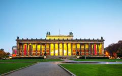 Altes museum building in berlin, germany Stock Photos