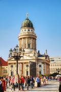 French cathedral (franzosischer dom) in berlin Stock Photos