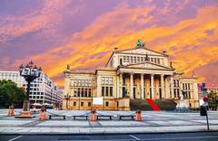 Concert hall (konzerthaus) at gendarmenmarkt square in berlin Stock Photos