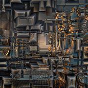 Background pattern metallic Stock Illustration