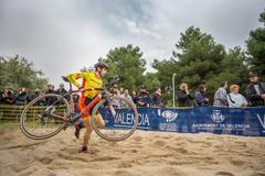 XIX Edition of Valencia City cyclo-cross kicks off - stock photo