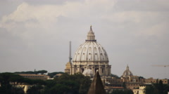 St Peters in Vatican state TILT SHIFT TL 4K Stock Footage
