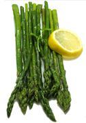 Asparagus stems Stock Photos