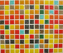 Multi-colored mosaic tiles Stock Photos