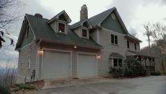 Mountain Home Establish Stock Footage