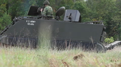 Vietnam War | M113 APC | Recon Team 2 Stock Footage