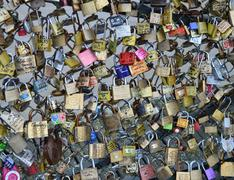Pont des Arts - Paris - stock photo