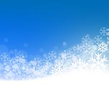 Abstract winter background - stock illustration