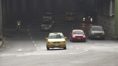 Tunnel Traffic, Rush Hour Stock Footage