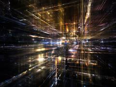 Lights of the Future Stock Illustration