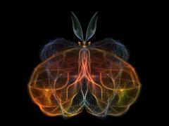 Beautiful Butterfly - stock illustration