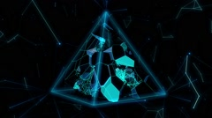 Pyramid BioLife 03 - stock footage