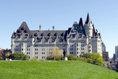 chateau laurier - stock photo