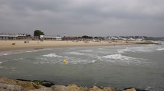Sandbanks Poole Harbour Dorset England UK Stock Footage