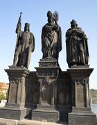 Statue of the Apostles Stock Photos
