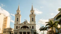 Igreja Campos dos Goytacazes - stock footage